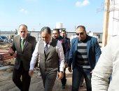 صور .. وزير الصحة يتابع أعمال تطوير مستشفى أبو خليفة بالإسماعيلية