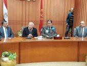 صور.. وزير الصحة: لولا دعم القيادة السياسية ما خرج قانون التأمين الصحى الشامل