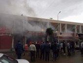 السيطرة على حريق بأحد مطاعم حى الزهور فى بورسعيد