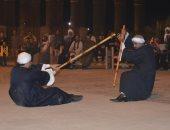 انطلاق الدورة العاشرة من مهرجان التحطيب فى ساحة أبو الحجاج بالأقصر