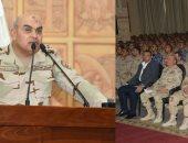 وزير الدفاع يلتقى عدد من أعضاء هيئة التدريس والدارسين بأكاديمية ناصر العسكرية