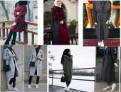 عشان الشتاء مش كله جواكيت 5 أزياء للمحجبات لإطلالة أنيقة ومحتشمة