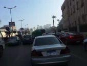 تعرف على الحالة المرورية بشارع قصر العينى المتجه إلى التحرير.. فيديو