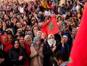 """مظاهرات حاشدة فى المغرب احتجاجا على """"مناجم الموت"""" ببلدة جرادة"""