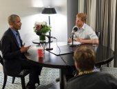 صور.. أوباما يحذر من الاستخدام غير المسئول لوسائل التواصل الاجتماعى