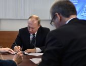 ننشر صور تقدم الرئيس الروسى بأوراق ترشحه لانتخابات الرئاسة