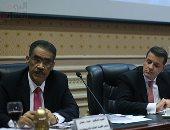 بدء جلسة استماع ضياء رشوان فى لجان البرلمان حول قرار الكونجرس بشأن الأقباط (صور)