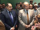 صور.. وزير التنمية المحلية يتفقد متحف سوهاج القومى