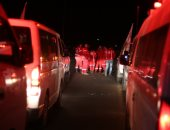 الصليب الأحمر: إجلاء دفعة ثانية من المرضى بالغوطة الشرقية قرب دمشق