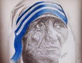 قارئة تشارك بمجموعة رسومات بالرصاص والفحم والألوان الخشب