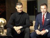 """كريستيانو رونالدو بعد الفوز بجائزة جلوب سوكر: """"عام رائع للغاية"""""""