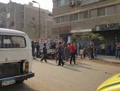 الداخلية: استشهاد أمين شرطة و6 مواطنين وإصابة 4 آخرين فى حادث حلوان (صور)