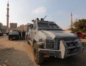 قوات الأمن تداهم بؤرا إجرامية لضبط الخارجين عن القانون بالجيزة