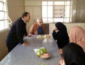 نائب رئيس جامعة المنصورة يزور مدينة الطالبات اليوم