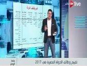"""فيديو.. معتز عبد الفتاح يُقيّم أداء أجهزة الدولة فى 2017 بـ""""ON Live"""""""