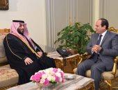 الملك سلمان يؤكد للرئيس السيسى وقوف المملكة بجانب مصر فى حربها ضد الإرهاب