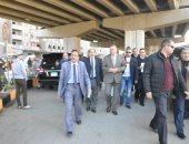 محافظ الجيزة يتفقد ميدان الشوربجى ببولاق لدراسة إعادة تخطيطه.. صور