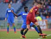 فيديو.. روما يسقط فى فخ التعادل أمام ساسولو بالدورى الإيطالى