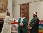 فيديو.. مسلمو وأقباط مصر بإيطاليا يقيمون الصلاة على أرواح شهداء كنيسة حلوان