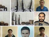 """حبس 14 إرهابيا بحركة """"حسم"""" الإخوانية 15 يوما لاتهامهم باغتيال رجال شرطة"""