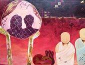 """معرض """"سرمديات"""" لـ أحمد شعبان يصور الحياة بعد الموت"""