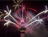نيوزيلندا أول دولة فى العالم تستقبل العام الجديد