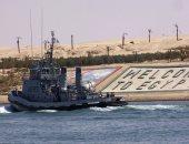 عطل بأحد السفن يتسبب فى اصطدامها بمعدية فى القنطرة دون وقوع إصابات