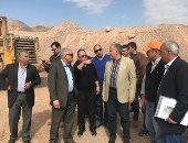 وزير الرى يتفقد مشروعات حماية جنوب سيناء من خطر السيول بـ200 مليون جنيه