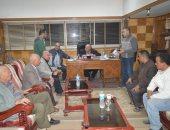 رئيس مدينة المحلة يستعرض التطويرات الهندسية الخاصة بنفق الشون