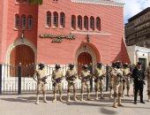 القوات المسلحة والشرطة يكثفان إجراءات تأمين دور العبادة خلال الاحتفالات
