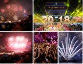 الألعاب النارية تضئ سماء الفلبين والصين وسنغافورة وتايلاند احتفالا بالعام الجديد