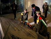 صور..أبو مازن يضع إكليلا من الزهور على ضريح عرفات بمناسبة تأسيس حركة فتح