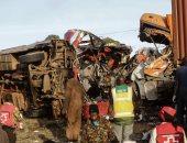 تفحم 53 شخصا وإصابة 29 آخرين فى حادث مرورى مروع غرب الكاميرون
