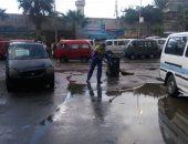 محافظة الإسكندرية تواجه الطقس السئ بسيارات شفط مياه الأمطار من الشوارع