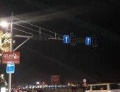 قارئ يشكو من تعطل إشارات المرور بشارع سوتر فى محافظة الإسكندرية