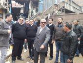 مدراء الأمن يتفقدون الشوارع لمراجعة خطط التأمين والانتشار الشرطى