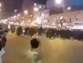 فيديو.. متظاهرو إيران يطالبون أفراد الشرطة بالانضمام لانتفاضتهم ضد الحاكم