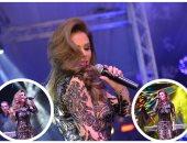 نيكول سابا تتألق بحفلها الثانى بالقاهرة فى حضور نجوم الإعلام والمشاهير