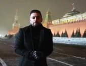 """فيديو.. هانى سلامة يعلن من روسيا عن صفحته الرسمية على """"فيس بوك"""""""