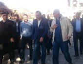 القائم بأعمال رئيس الوزراء يتابع تطورات أزمة شحوط البواخر بكوم أمبو (صور)