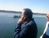 الحكومة: سحب رخصة أى قائد باخرة لا يلتزم بالمجرى الآمن ومنعه من الإبحار