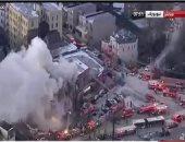 حريق هائل بمجمع سكنى فى نيويورك.. ومحاولات للسيطرة على النيران
