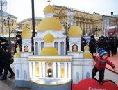 صور.. استمرار احتفالات الكريسماس بروسيا فى ثانى أيام العام الجديد