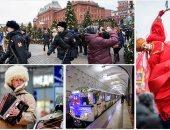 استمرار احتفالات الكريسماس بروسيا فى ثانى أيام العام الجديد