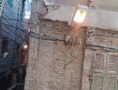 بالصور .. إنارة أعمدة الكهرباء نهاراً فى الظاهرية بالإسكندرية