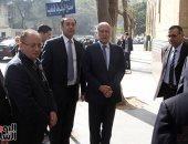 أمين جامعة الدول العربية ورئيس مكتبه يشاركان فى جنازة إبراهيم نافع بعمر مكرم