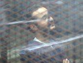 """19فبراير الحكم فى طعن """"دومة"""" لإزالة القفص الزجاجى خلال محاكمته"""