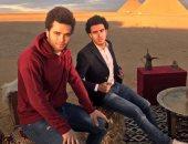 صور.. صلاح والننى وجابر يشاركون فى حملة دعائية للسياحة المصرية