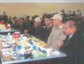 صور.. مأدبة إفطار تجمع المجندين بمساعد وزير الداخلية لتدريب قوات الأمن