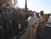 وزير الدفاع الكويتى يبحث مع وزير الداخلية السعودى أوجه التعاون المشترك